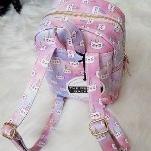 Under One Sky Unicorn Cat Pastel Rainbow Backpack